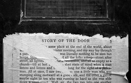 """Story of the Door."" daveknapik, http://www.flickr.com/photos/daveknapik/3068675810"