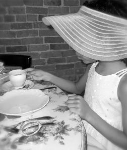 """""""Ladies Tasting Tea 1."""" PPR_Scribe"""