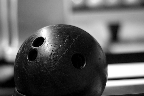 """Bowling Ball."" Michael Mistretta, http://www.flickr.com/photos/definetheline/2337952675/"