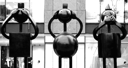 """Public Art."" Thomas Hawk, http://www.flickr.com/photos/thomashawk/12241668/"