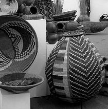 """Woven baskets."" mvcork, http://www.flickr.com/photos/mvcorks/148222411/"