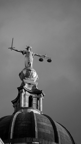 """Justice."" John Linwood, http://www.flickr.com/photos/johnlinwood/352842329/"