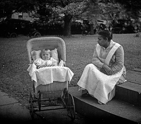 """Child and nurse."" http://www.flickr.com/photos/george_eastman_house/2678243048/"