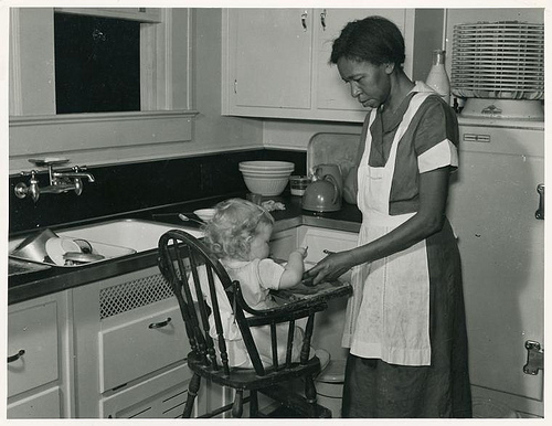 """Negro domestic servant, Atlanta, GA, May 1939."" http://www.flickr.com/photos/nypl/3110575890/"