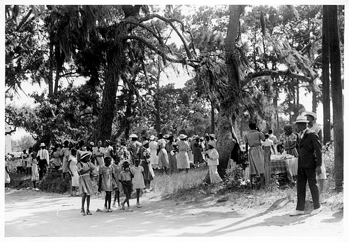 """Fourth of July celebration, St. Helena Island, SC."" NY Public Library, http://www.flickr.com/photos/nypl/3110574908/"