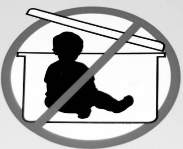"""Baby in a Box."" QwirkSilver, http://www.flickr.com/photos/qwirksilver/5418906/"
