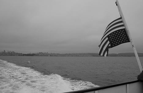 """Upside down American Flag."" Arthur Guy, http://www.flickr.com/photos/arthurguy/2537870504/"