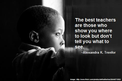 """The Best teachers."" kyteacher, http://www.flickr.com/photos/kyteacher/3580553044/; Michael Mistretta, http://www.flickr.com/photos/definetheline/2644671002/"