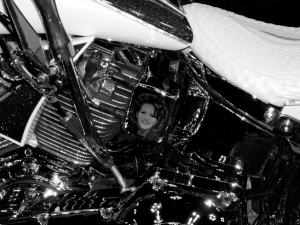 """Obama Harley Close-up 2."" PPR_Scribe"