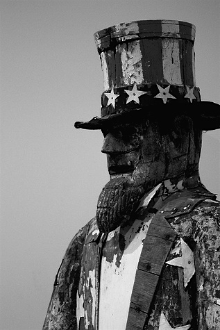 """Folk Art-Uncle Sam."" ChiaBart, http://www.flickr.com/photos/chicagobart/3695721176/"
