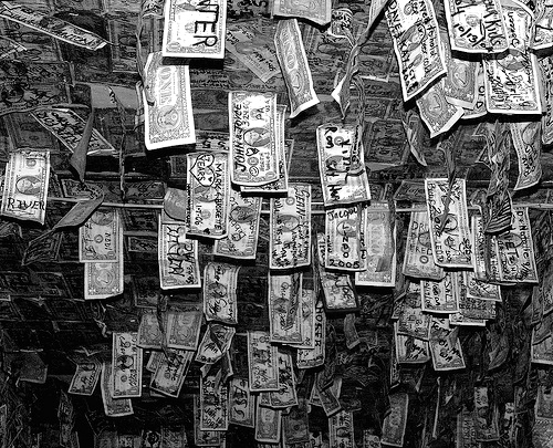"""Money, Hanging On."" cobalt123, http://www.flickr.com/photos/cobalt/425231402/"