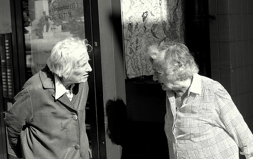 """two old ladies in Vienna."" loungerie, http://www.flickr.com/photos/loungerie/2103105240/"
